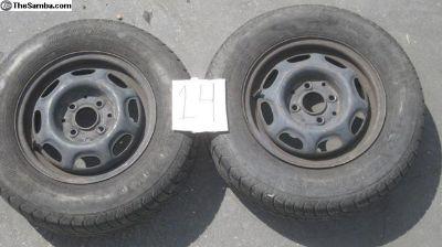 rabbit or caddy wheels