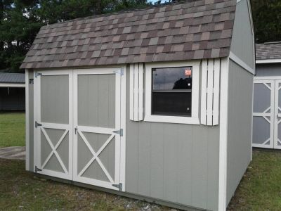Cook 10x12 Lofted Garden Shed - LIFETIME WARRANTY & FREE DELIVERY/ SETUP