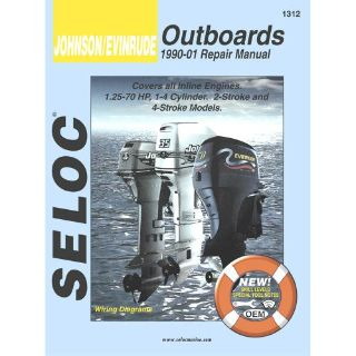 Buy Seloc Serive Manual - Johnson/Evinrude - Inline Engines - 1990-2001 -1312 motorcycle in Phoenix, Arizona, United States, for US $37.81