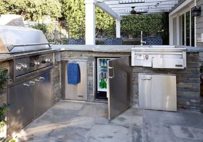 Outdoor kitchen in Arizona
