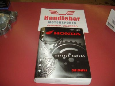 Sell Honda CBR1000RR Service Manual 08-2010 retired, OEM 61MFL02 motorcycle in Durango, Colorado, US, for US $15.00