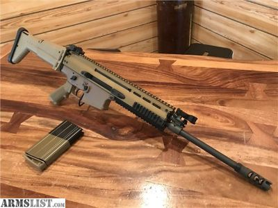 For Sale: FN SCAR 17S 7.62X51 .308 FDE