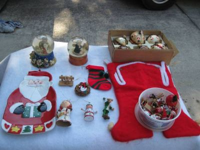 Antique Christmas ornaments  other things (Mandeville)