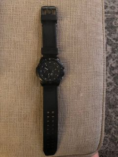 Luminox EUC watch new band new battery
