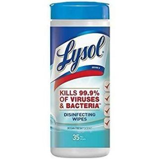 Lysol Disinfecting Wipes- 1 of 4