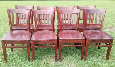 Lot of Real Wood Chairs ($50 Each)