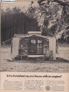 1966/1967 1 Page Bus Camper Ad #29