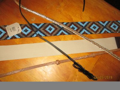 BELTS-SET OF 5