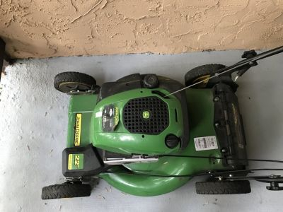John Deere self propelled mower