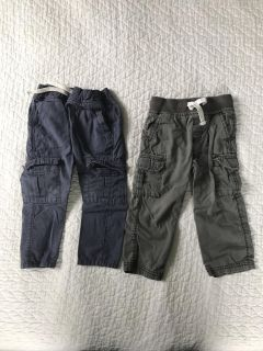 Old Navy and Carter s pants 2T