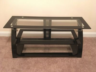 Metal/Glass TV Stand