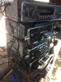 Five. Vintage Sapphire Radios