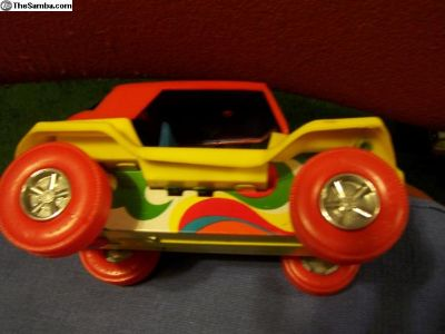 Tin & Plastic Buggy Of 8 Inch,wind-up