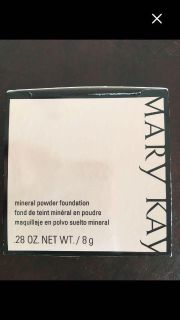 Mary Kay Mineral Powder Foundation 0.28 oz. NIB. Retails $20. Limited quantities/shades listed below.