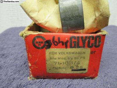 NOS Glyco 36HP Rod Bearing Set 0.25