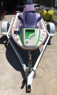 1992 Bombardier Seadoo New battery and voltage regulator rectifier Clean, clear title in hand