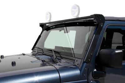 Purchase CARR 210221 - 07-13 Jeep Wrangler Black XRS Rota Light Bar motorcycle in Temecula, California, US, for US $176.39
