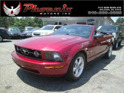 2007 Ford Mustang V6 Deluxe (Burgundy)