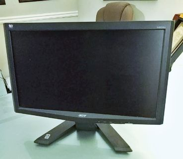 """Acer X203H bd 20"""" Widescreen LCD Monitor"""