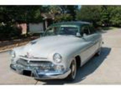 1950 Mercury Deluxe Sport Sedan 2 Tone