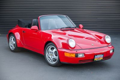 1992 Porsche 911 America Roadster (Guards Red)