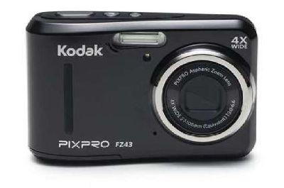 New Kodak PIXPRO Friendly Zoom FZ43 16 MP Digital Camera with 4X Optical Zoom BL