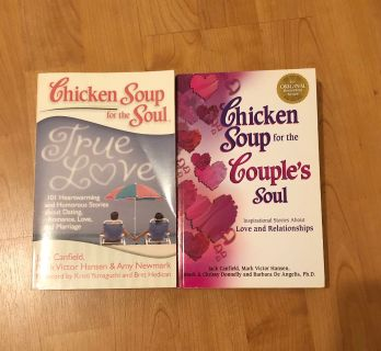 2 Chicken Soup books for $12