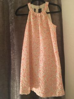 French connection sequin party dress sz 0.
