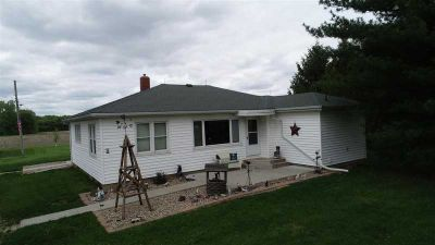 2237 E 1500 North Road SHELBYVILLE Four BR, Country Ranch Home