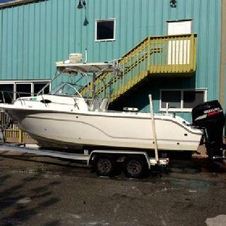 2006 Sea Fox 236 WA 225 Suzuki 4stroke W/Plantation Boat Mart Trailer