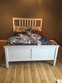 Double/Full bed frame *mattress not included*
