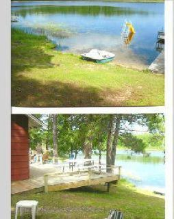 $219,000 seasonal cabin Lake Two