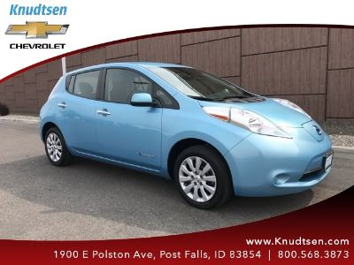 2015 Nissan LEAF SL (Morningsky Blue)