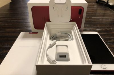 Apple iPhone 7 Plus (PRODUCT)RED - 256GB - (AT&T) A1784 (CDMA + GSM)