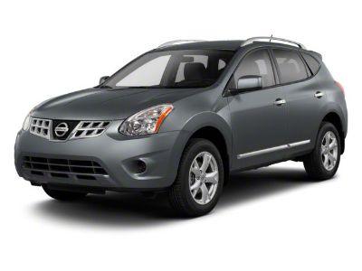 2012 Nissan Rogue S (Brilliant Silver)