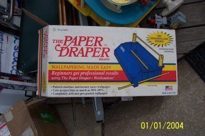 The Paper Draper workstation with Vhs New in box
