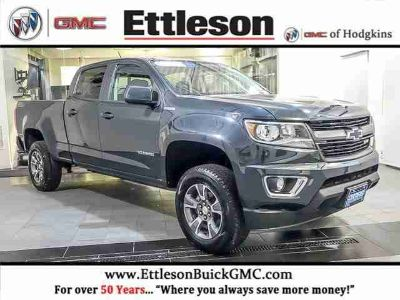Used 2017 Chevrolet Colorado Crew Cab 140.5