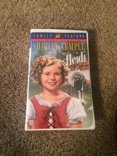 Shirley Temple VHS tape