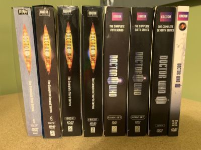 Doctor Who Seasons 1-7 & Dr Who Movie DVDs