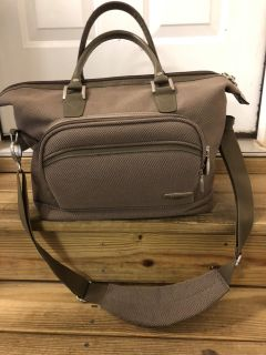 Travel Carry-on Bag/Luggage with Hanging Toiletry Bag