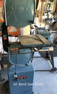 Jet Band Saw Woodworking Tools