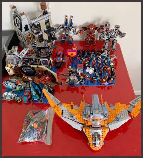 Collection of legos