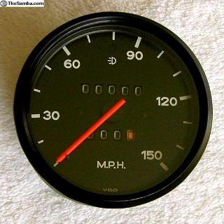 Porsche 914-4 Restored Later Style Speedometer