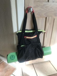 Rare Earth by Stone Mountain Yoga Gym Bag POMS (mat not included)