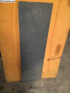 Original Doublecab rear interior panel