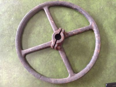 Antique SIMANCO 27074 Adjustable Pulley Wheel for Sewing Machine