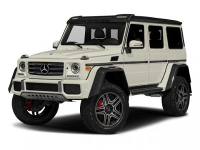 2017 Mercedes-Benz G-Class G 550 4x4 Squared (NIGHT BLACK)