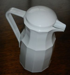 32 Oz. White Thermal Insulated Carafe