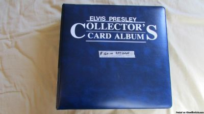 Elvis Presley Colecor'Card Album