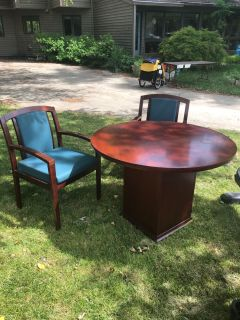 Office Table & Chairs